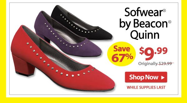 Save 67% - Sofwear® by Beacon® Quinn - Now Only $9.99 - Shop Now >>
