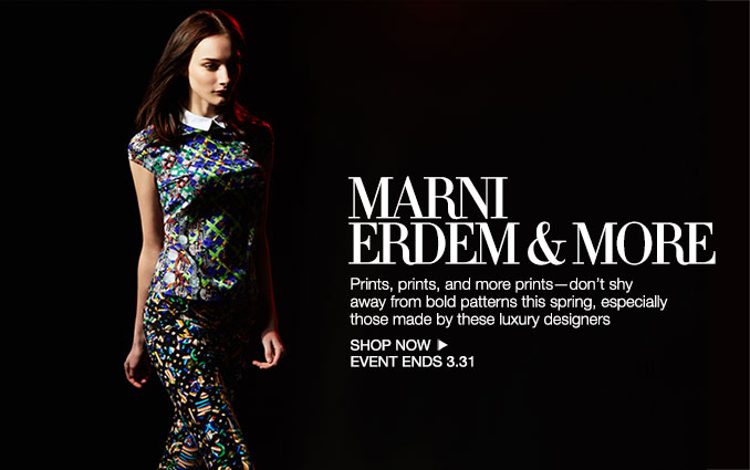 Shop Marni, Erdem & More - Ladies