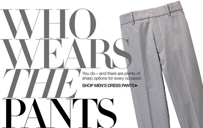 Shop Slacks - Men
