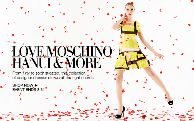 Shop Love Moschino, Hanui & More - Ladies