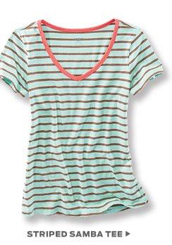 Striped Samba Tee >
