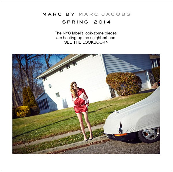 Marc by Marc Jacobs's look-at-me pieces are heating up the neighborhood.  Shop Now!