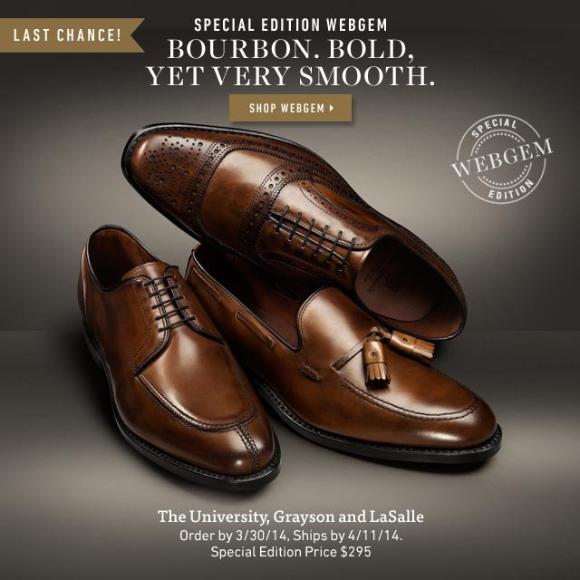 Bourbon. Bold, Yet Very Smooth. Special Edition WebGem in Bourbon. Shop Now >