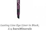 Lasting Line Eye Liner in Black, £14 bareMinerals