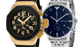 Men's Watches by Armani and more