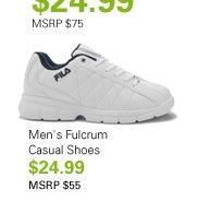 Men's Fulcrum Casual Shoes $24.99 MSRP $55