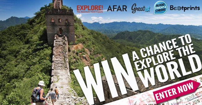 We're sending one lucky winner (and their guest) on the trip of a lifetime. The winner can choose from four different globe-trotting adventures.