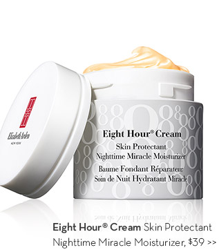 Eight Hour® Cream Skin Protectant Nighttime Miracle Moisturizer, $39.