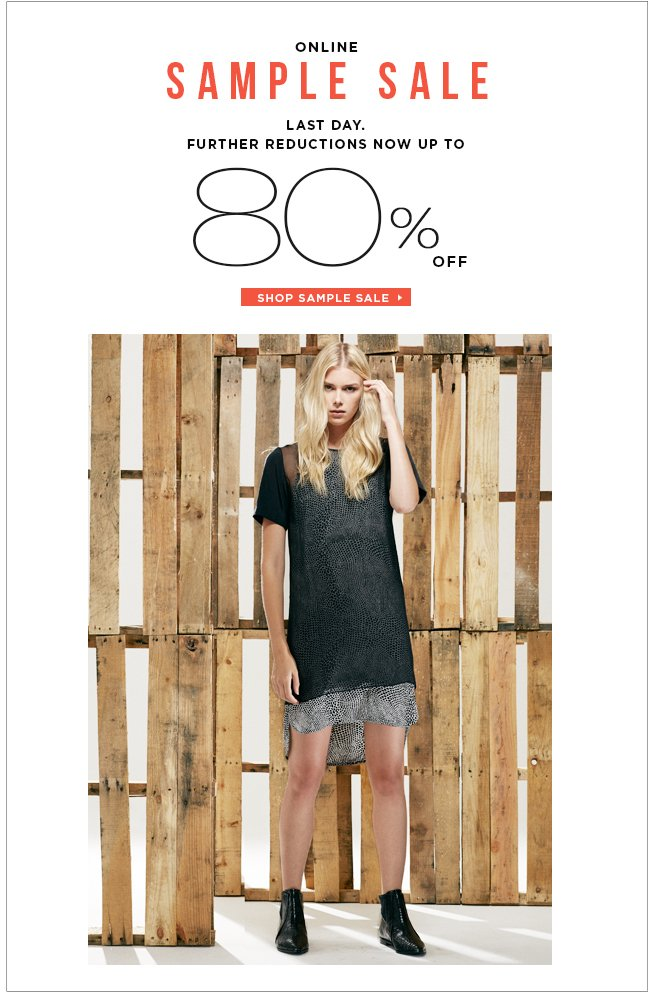 Up to 80% Off Ready-to-Wear and Shoes