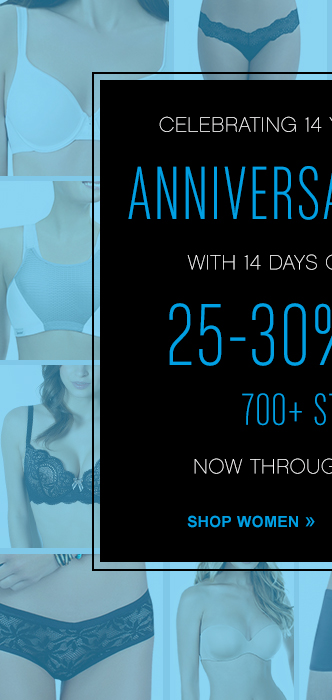 Celebrating 14 Years Online With 14 Days Of Savings