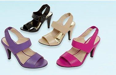 Wide–Strap Sandal