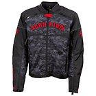 Scorpion Men's 'Underworld' Blood Textile Jacket