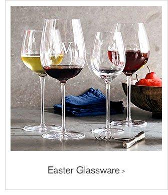 Easter Glassware