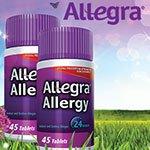 Allegra Allergy Non-Drowsy 24 Hour Allergy Relief