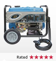 Westinghouse 7,000W Running/8,500W Peak Electric Start Portable Generator with 20' Power Cord