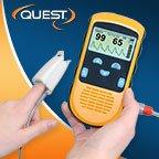 Quest Hand Held Pulse Oximeter