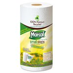 Marcal Small Steps 100% Premium 2-Ply Recycled Paper Towel Rolls