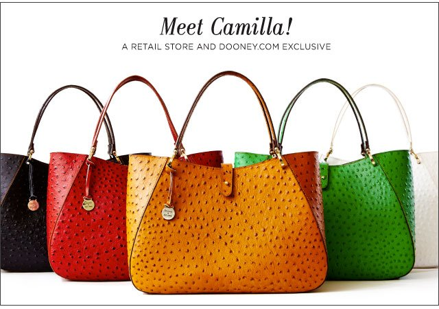Meet Camilla! A retail store and dooney.com exclusive