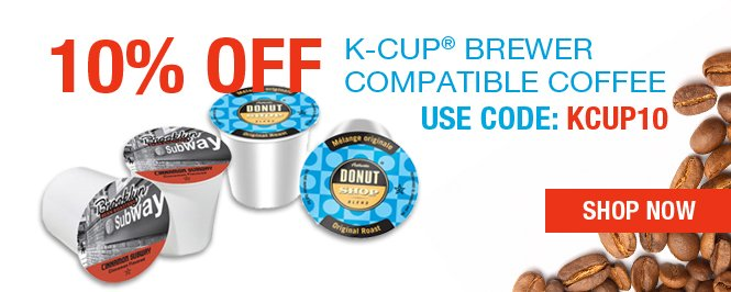 Your 10% off re-order coupon code: KCUP10