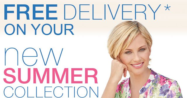 Free Delivery on your new summer collection