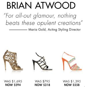 BRIAN ADWOOD - UP TO 65% OFF