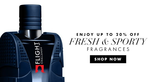 Find a new sporty fragrance thats perfect for you