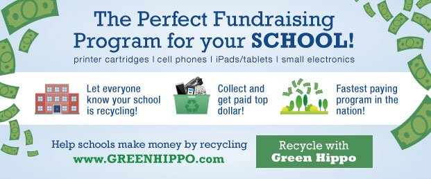 Start Recycle With Green Hippo - and your School!