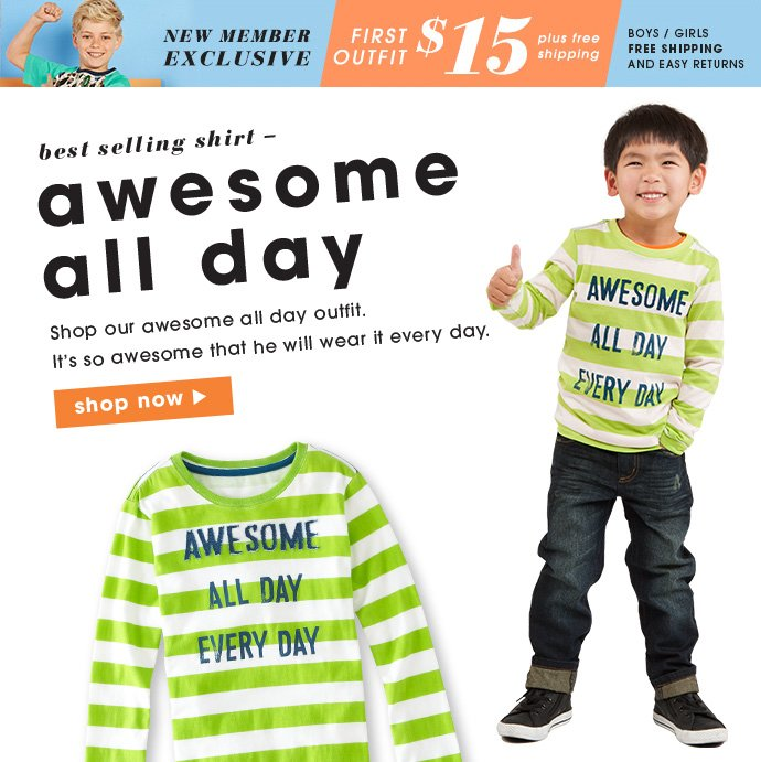 Awesome All Day Outfits - Just $15!