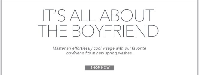 Spring's Must-Have Silhouette | Shop The Boyfriend Fit