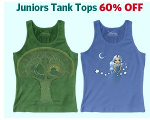 Juniors Tank Tops 60% OFF