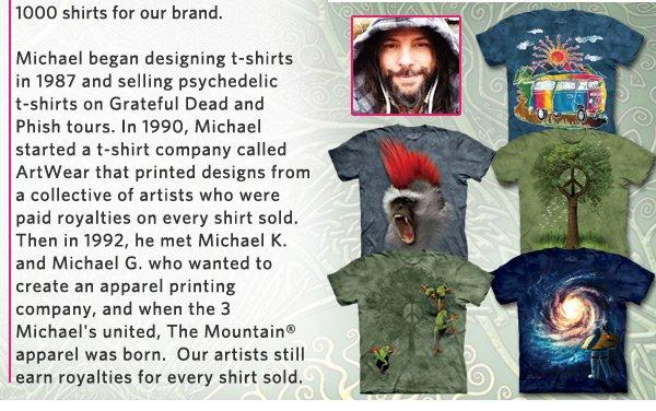 Artist Corner Featuring Artist/Owner Michael McGloin