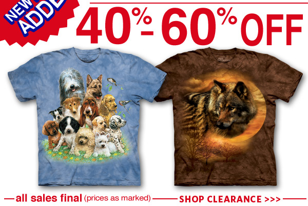 Clearance Sale 40-50% Off. All sales final. (price as marked) SHOP CLEARANCE