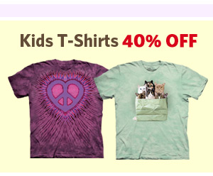 Kids T-Shirts 40% OFF