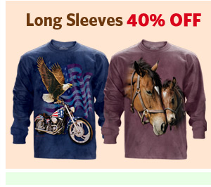 Long Sleeves 40% OFF