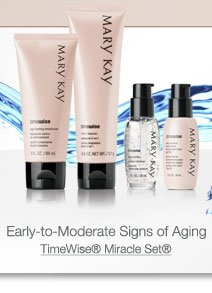 Early-to-Moderate Signs of Aging. TimeWise® Miracle Set®