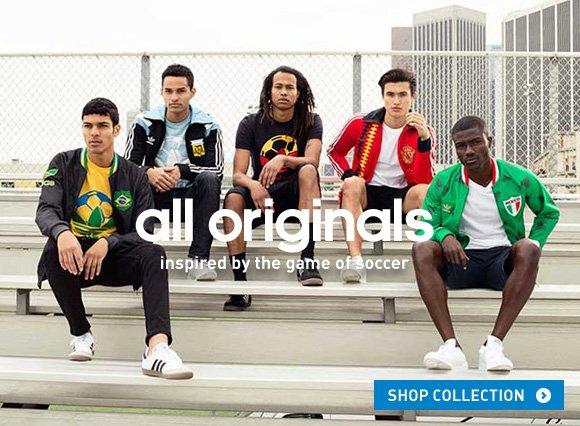 Shop Soccer Originals »