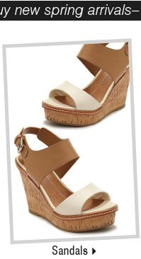 It's the perfect time to buy new spring arrivals-Shop Sandals