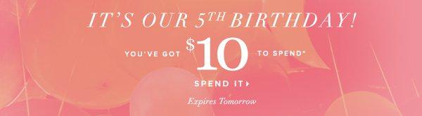 Spend it: