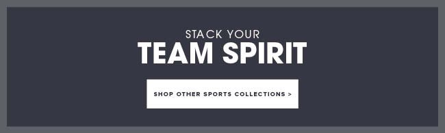 Stack your team spirit. Stop other sports collections.