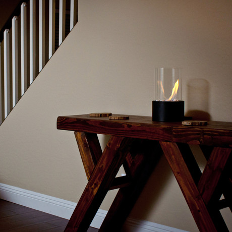 Tabletop Fireplace // Black