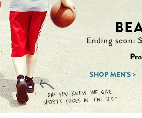 Ending soon: $10 off any order of at least $65*. Shop Men's