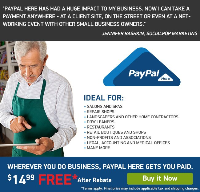 Get paid anywhere and everywhere you do business!