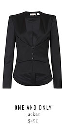 ONE AND ONLY jacket - $490
