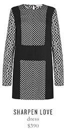 SHARPEN LOVE dress - $390
