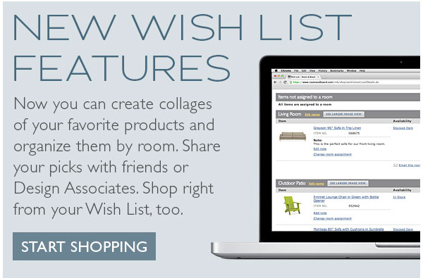 New Wish List Features