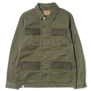 "Deluxe ""Texaco"" Jacket Olive"