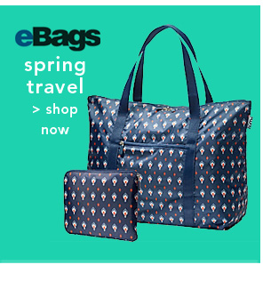 Shop Ebags Spring Travel