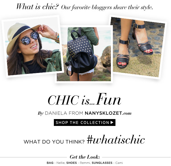 Chic is...Fun. Shop the Collection