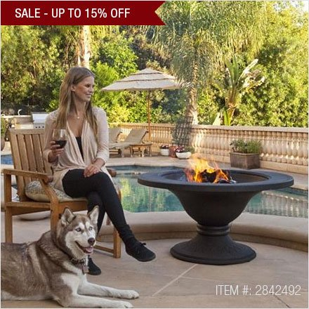 Fire Pits Sale Save up to 15%