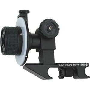 Adorama - Cavision Mini Single Wheel Follow Focus with Canon Gear for Prosumer & Mini-DV Cameras - Attaches to Standard 15mm Rods - for use with Cavision Gear Rings